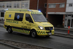 MEDICAL AMBULACE Stock Images