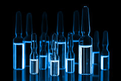 Medical ampoules Royalty Free Stock Photos