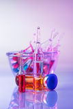Medical ampoules still life Royalty Free Stock Image
