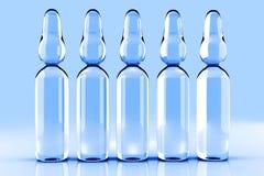 Medical Ampules Stock Photo