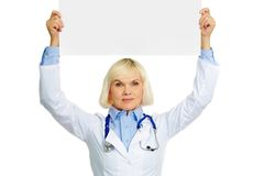 Medical announcement Royalty Free Stock Photography