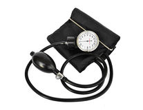 Medical apparatus. For measuring blood pressure Royalty Free Stock Photo