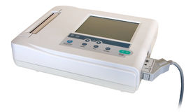 Medical appliance (EKG / ECG) Royalty Free Stock Photography