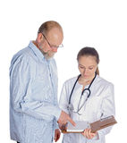 Medical appointment Royalty Free Stock Photography