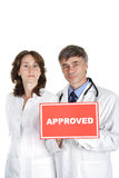 Medical approval Stock Images