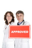 Medical approved Royalty Free Stock Photos