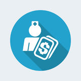 Medical assistance cost Royalty Free Stock Image