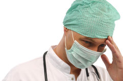 Medical assistant Stock Image