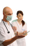 Medical assistants Stock Photography