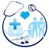 Medical attendance Stock Image