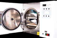 Medical Autoclave royalty free stock photography