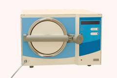 Medical autoclave for sterilising surgical Stock Photos