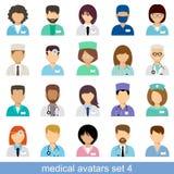 Medical avatars Royalty Free Stock Photo