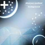 Medical bacground vector Royalty Free Stock Images