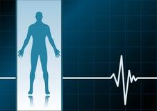 Medical background Stock Image