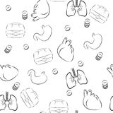 Medical background Stock Images