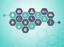 Free Medical Background Stock Image - 53508161