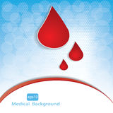 Medical background . Royalty Free Stock Photography