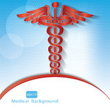 Medical background . Stock Images