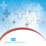 Medical background . Royalty Free Stock Images