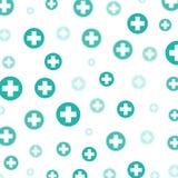 Medical background, crosses Stock Image