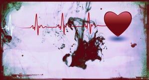 Medical background - Grunge style Royalty Free Stock Image
