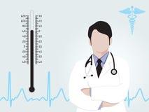 Medical background illustration Stock Photography