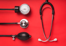 Medical background. Medical tools Royalty Free Stock Photography