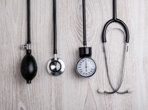 Medical background. Medical tools Royalty Free Stock Photos