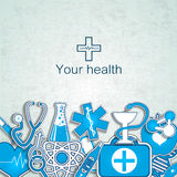 Medical background Royalty Free Stock Photography