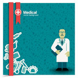 Medical background Stock Photography