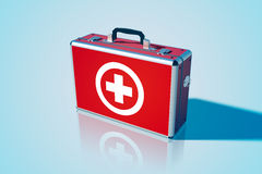 Medical bag background Stock Image