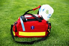 Medical bag - Paramedic Royalty Free Stock Images