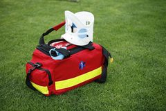 Medical bag - Paramedic Stock Photography