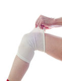 Medical Bandage. Stock Photo