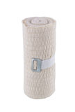 Medical bandage. On white isolated background Stock Photos