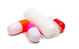 Medical bandage isolated Stock Photo