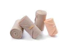 Medical bandage roll isolated on white background Royalty Free Stock Photo