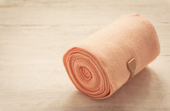 Medical bandage roll Stock Images