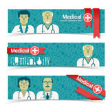 Medical banners set Royalty Free Stock Photo
