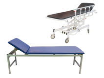 Medical bed Royalty Free Stock Image