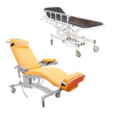 Medical bed Stock Image