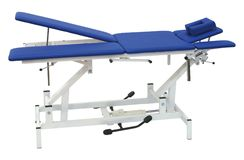 Medical Bed on a white Stock Photography