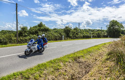 Medical Bike - Tour de France 2016 Stock Photo