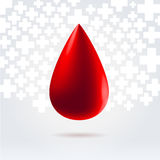 Medical blood donation concept Royalty Free Stock Photos