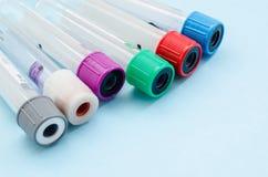 Medical Blood tube, test tube for laboratory. Royalty Free Stock Image
