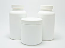 Medical bottle Stock Photography