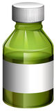 A medical bottle with cover Stock Image