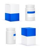 Medical bottle Stock Photo
