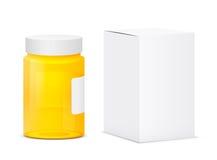 Medical bottle Stock Photography